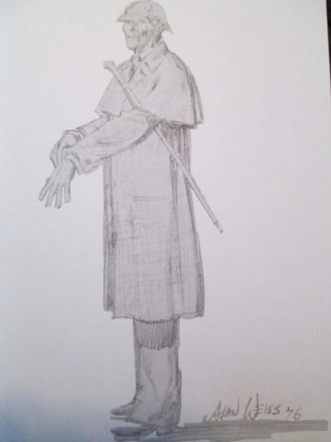 Sherlock Holmes by Alan Weiss