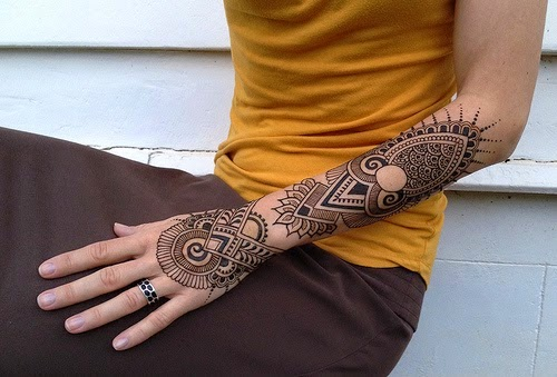 Mens Mehndi Tattoo : Mehndi design for men hand makedes