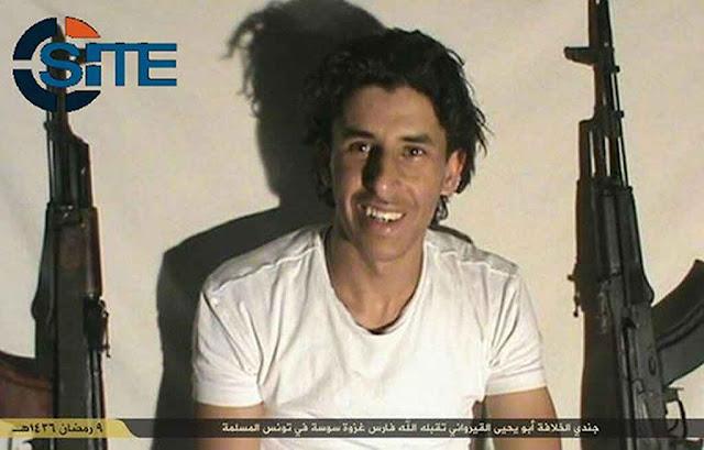Seifeddine Rezgui formado em informática e fã de breakdance provou as decadências de Ocidente e se jogou na suprema decadência suicida islâmica