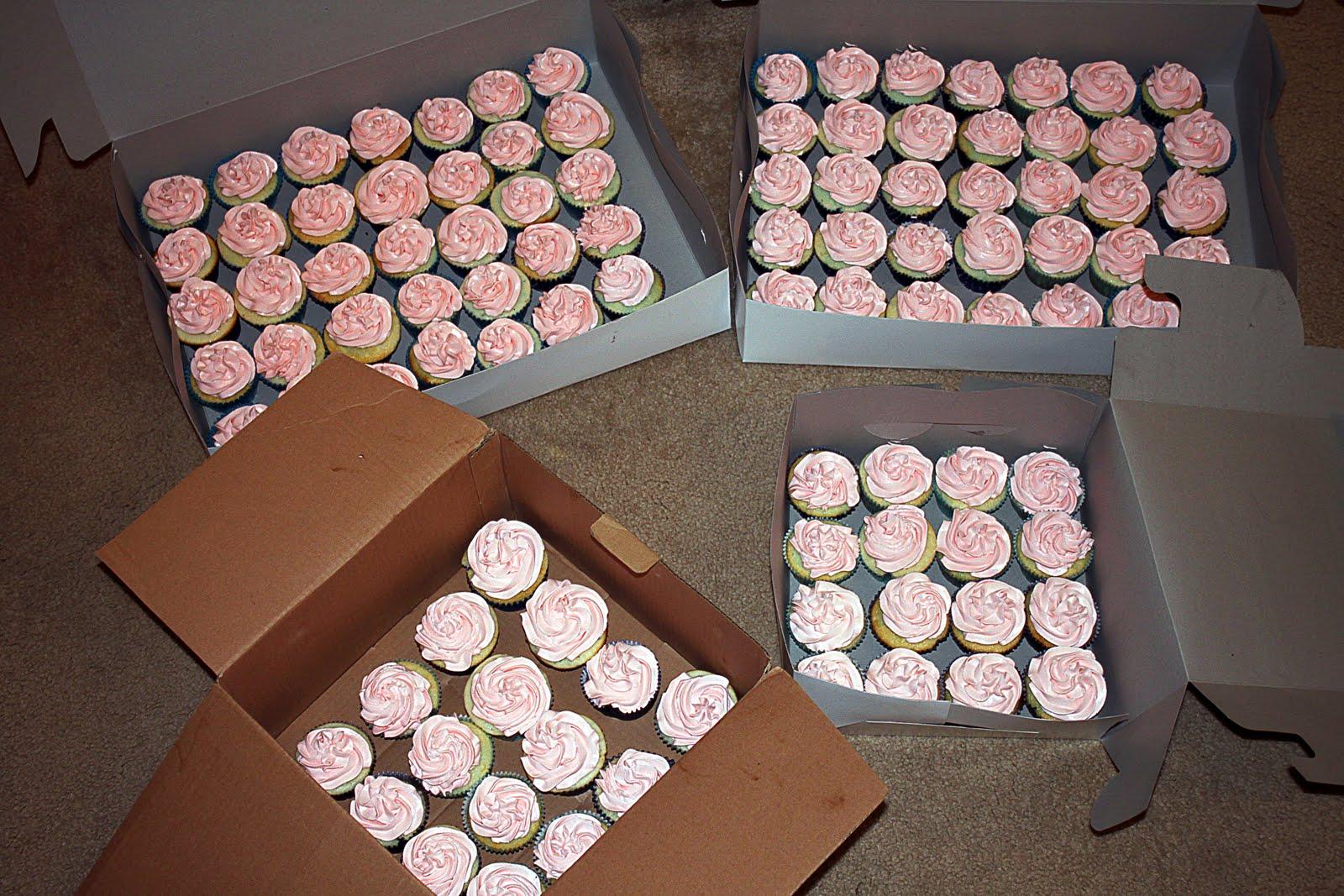 100 cupcakes