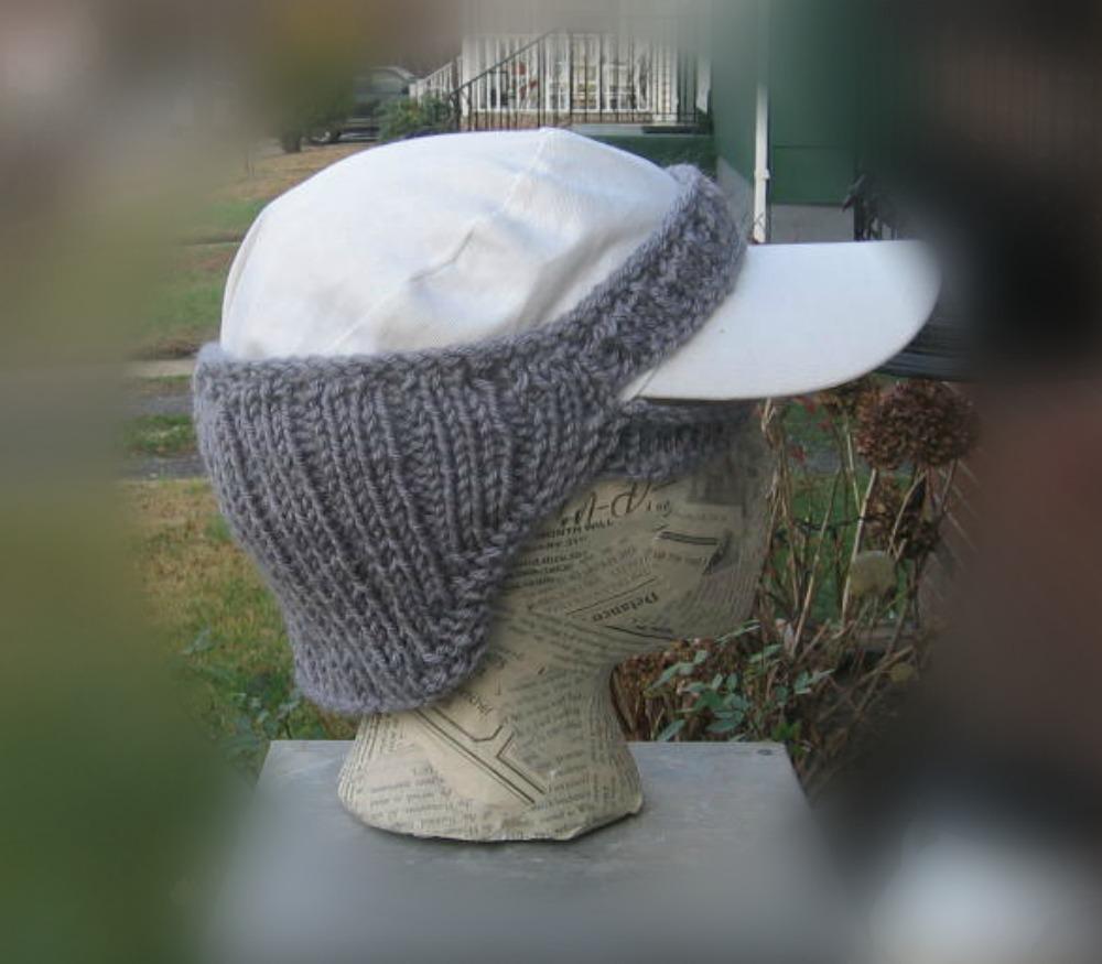 Free Knitting Pattern Ear Warmer Hat : not just hats