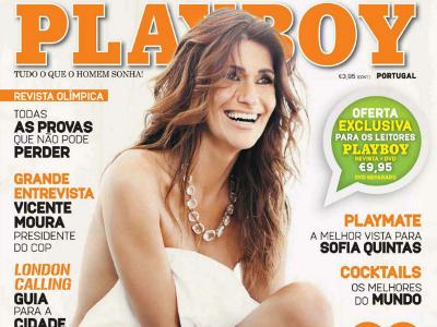 Liliana Campos Playboy Julho/Agosto 2012