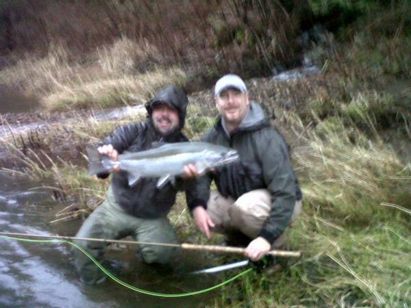 2012 winter steelhead one for the books water time for Tillamook fishing report