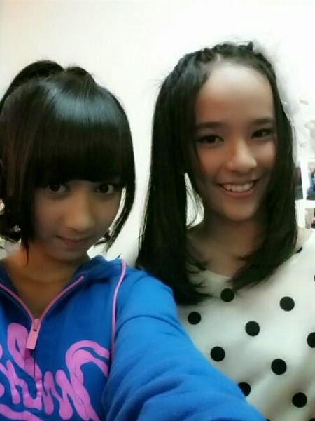 Foto Beby Chaesara Anadila JKT48 Bersama Ayana Shahab Achan JKT48