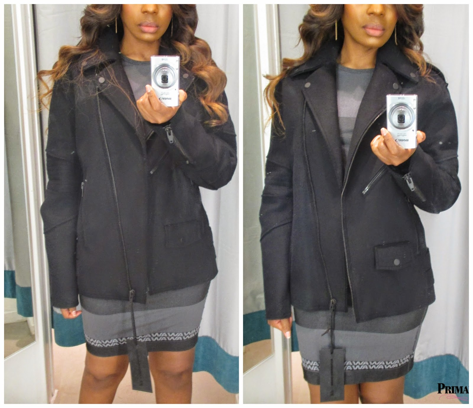Alexander Wang for H&M Wool Blend Biker Jacket