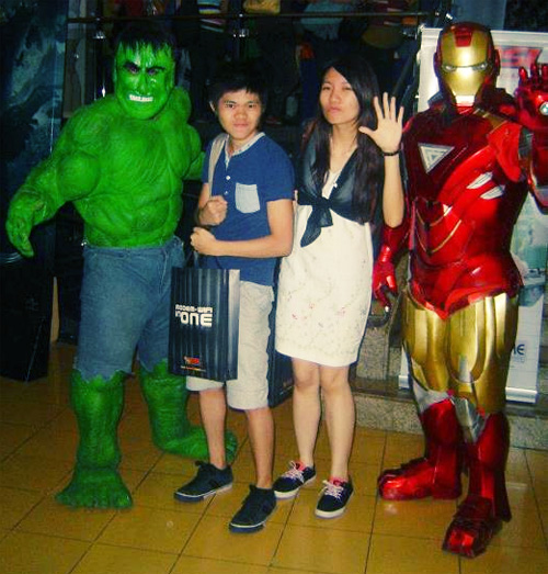 nuffnang the avengers with pldt