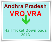 VRO Hllticket Download,VRA 2013 Hallticket download online,VRA Recruitment,VRO Recruitment, AP VRO VRAO Halltickets Download