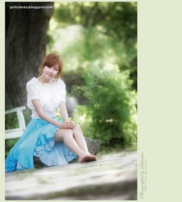 10 Choi Byeol Yee-Legs Show Off-very cute asian girl-girlcute4u.blogspot.com