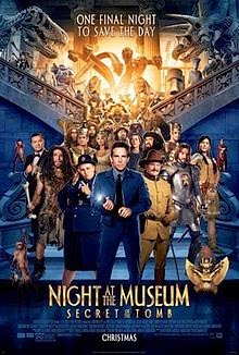 Night at the Museum: Secret of the Tomb  Poster 2