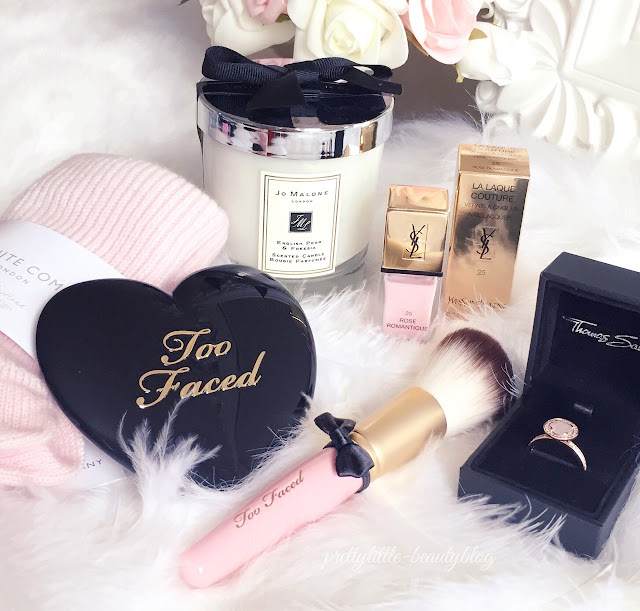 What I Got For Christmas 2015 | Too Faced, Jo Malone, Ysl, Thomas Sabo, The White Company
