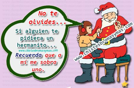 Chiste Gráfico, Papa Noel, Navidad,