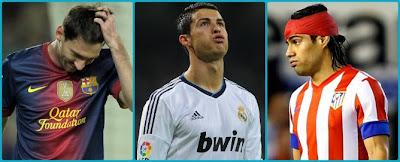 Messi, CR y Falcao en rueda de prensa… ¡Crackòvia!