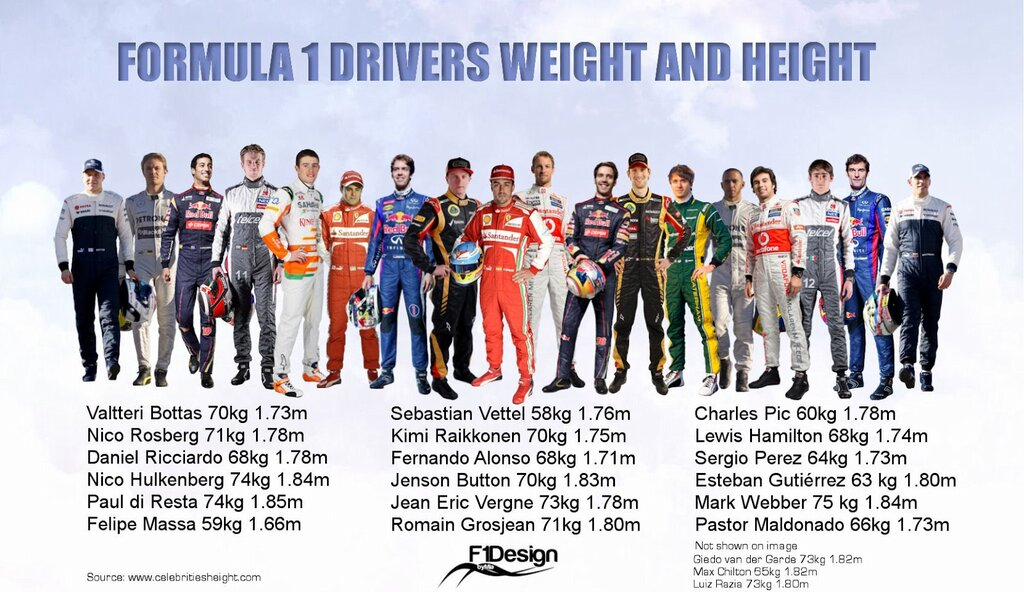 How Tall Are Race Car Drivers