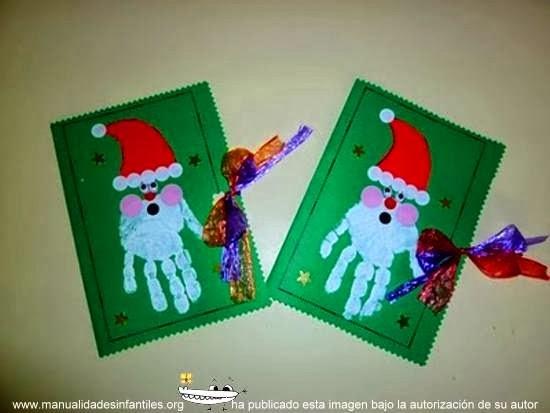 Un somriure neix al cor i floreix als llavis de desembre 2013 - Manualidades de tarjetas de navidad para ninos ...