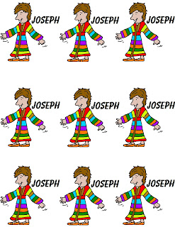 Church House Collection Blog: Joseph's Coat of Many Colors Cupcake