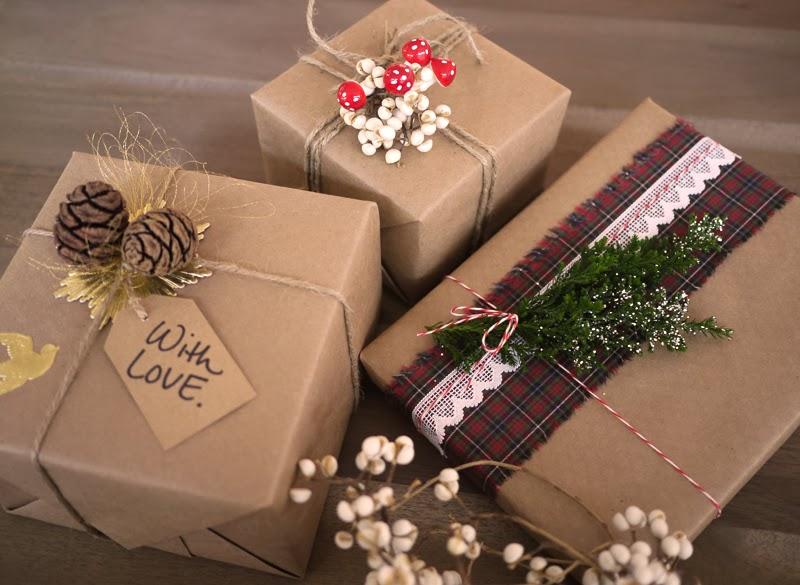 Как оформить коробку для подарка