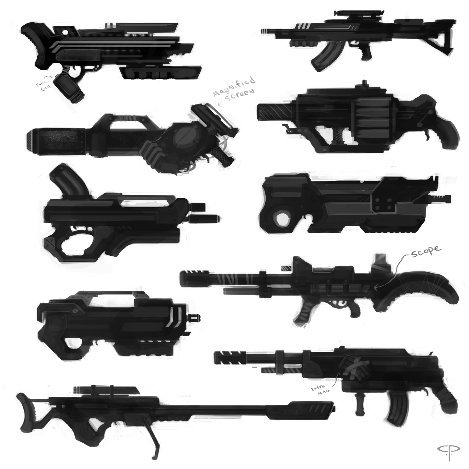 Concept Weapons Technology New Concept Weapons