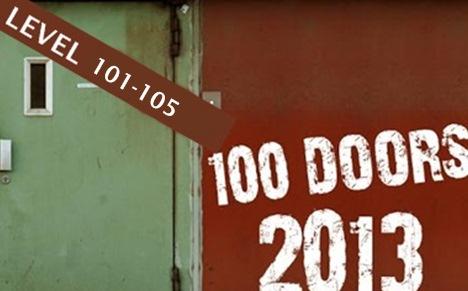 100 Doors 2013 Level 101 102 103 104 105 Walkthrough