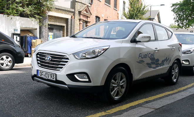 Hyundai ix35 Fuel Cell front