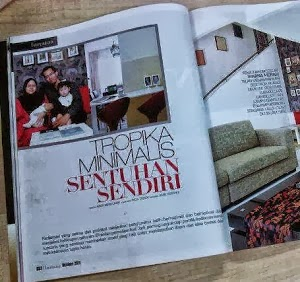 Penulis Di Majalah IMPIANA-Edisi Nov 2011