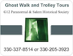 HAUNTED AND HISTORICAL TROLLEY TOURS OF SALEM, OHIO OCT 13 AND 27!
