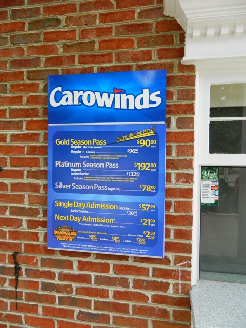 Kings Island  Gate Prices