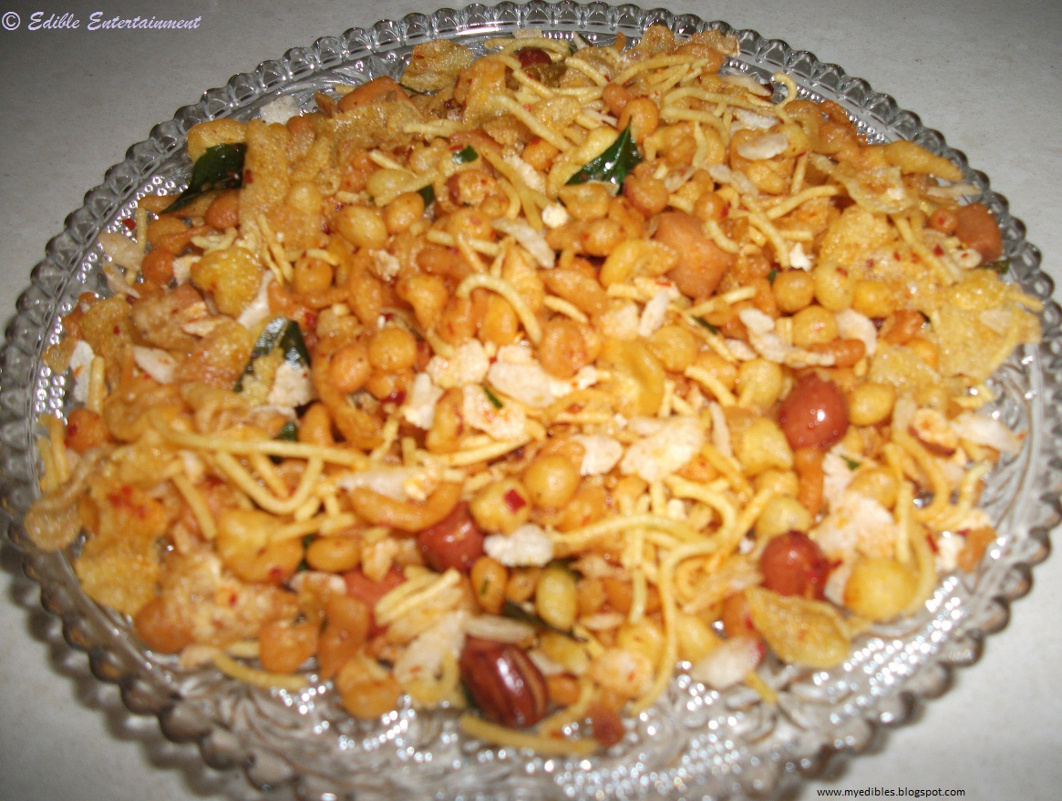 Mixture | Assorted Savories In A Chili Based Garnish | Diwali Special