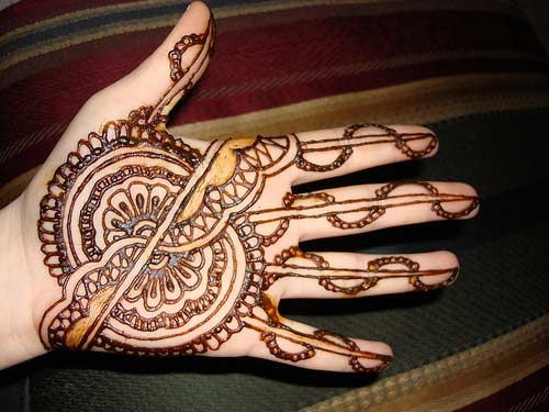 Easy Mehndi Designs Hands : Mehndi designs arabic video for hands simple and easy 2013 hand