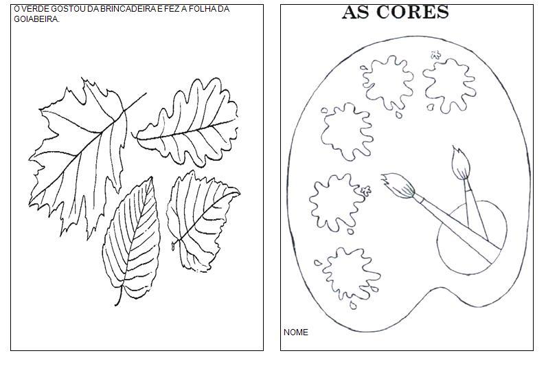 Famosos ESPAÇO EDUCAR: Livro das cores! Atividade para a Educação Infantil! XE91