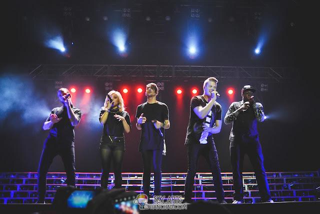 The five powerful members of Pentatonix - Avi, Kirstie, Mitch, Scott and Kevin