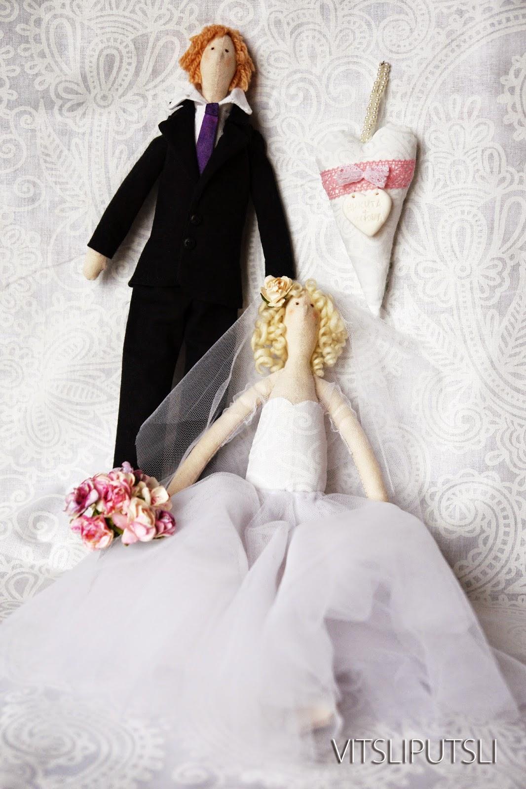 Кукла своими руками жених и невеста