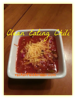 Clean Eating Chili Recipe