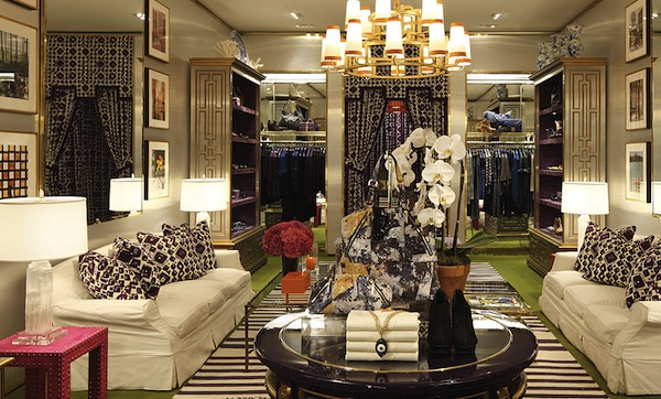 Tory Burch Has Opened The Doors To Her New Madison Avenue Boutique She Collaborated With Architect Decorator Daniel Romualdez Design This Ultra Chic