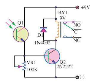 Light Switch Series With Photo Transistor