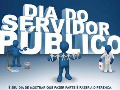 PARABÉNS para o Servidor  Público.