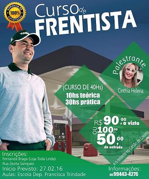 CURSO DE FRENTISTA