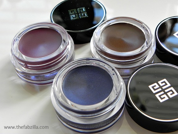 givenchy ombre couture cream eye shadow review, swatch