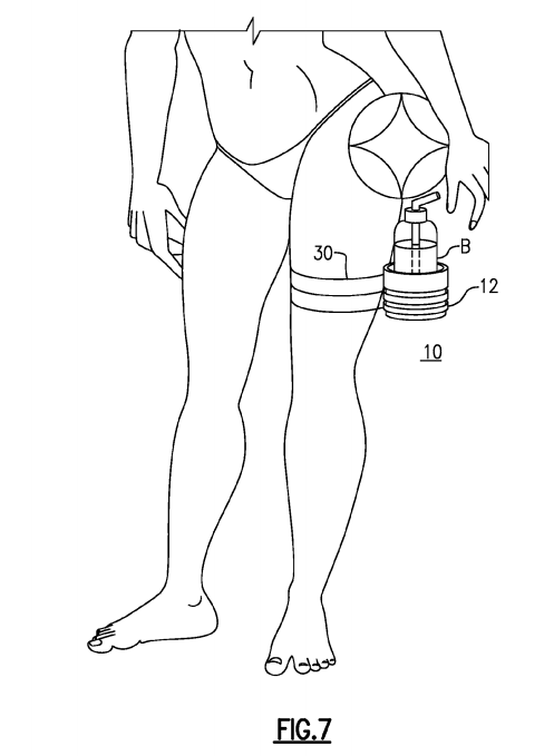 US Patent 9,027,807 - Figure 7