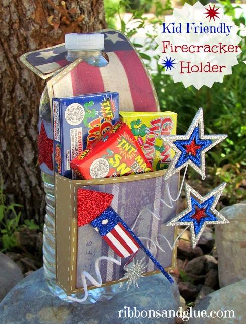 Kid Friendly Firecracker Holder
