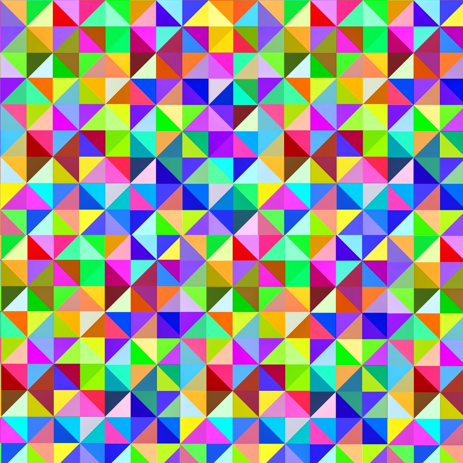 Triangle Geometric Pattern The Image