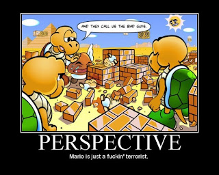 super mario bros from another perspective
