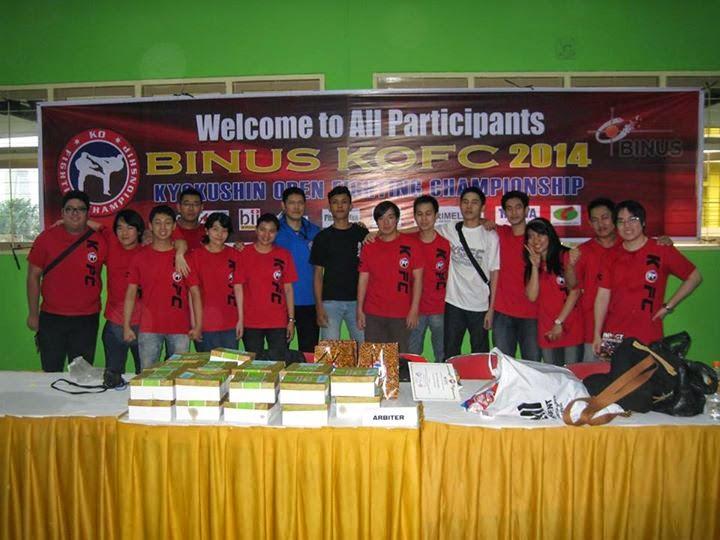 Binus KOFC 2014