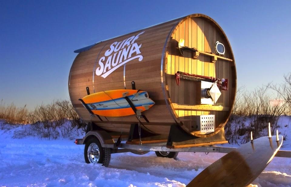 surf sauna. Black Bedroom Furniture Sets. Home Design Ideas