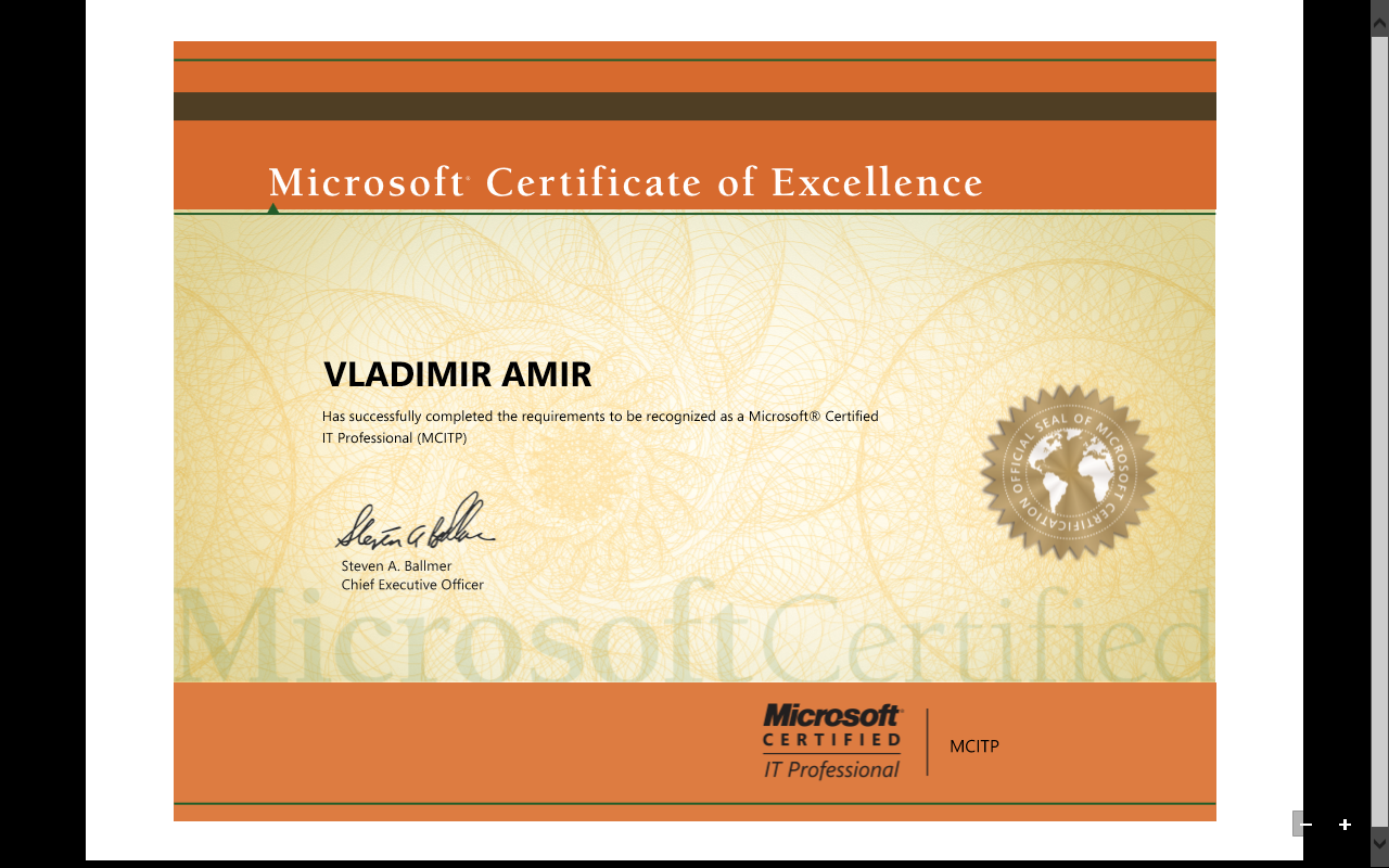 Course work microsoft mcitp certification training 1betcityfo Images