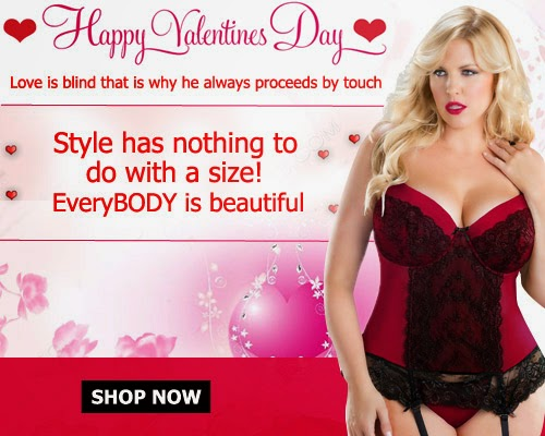 Women Plus Size Lingerie For Valentine