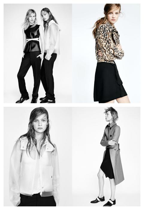 Moda Zara Otoño Invierno 2014