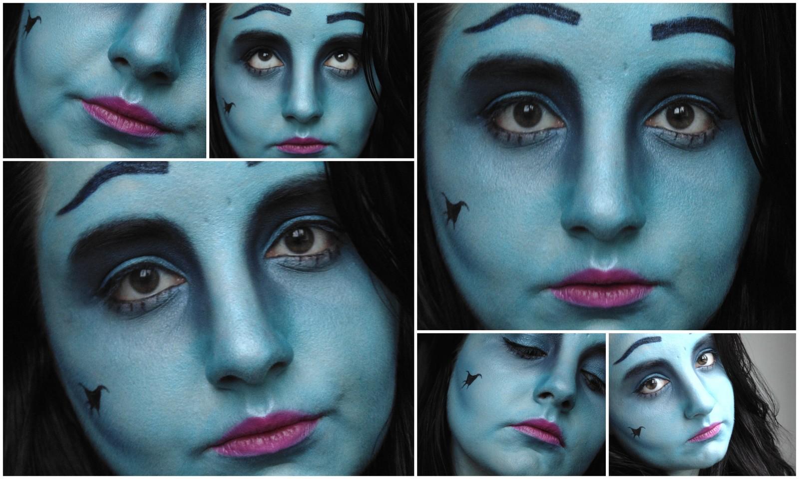 Halloween Tutorial: Corpse Bride