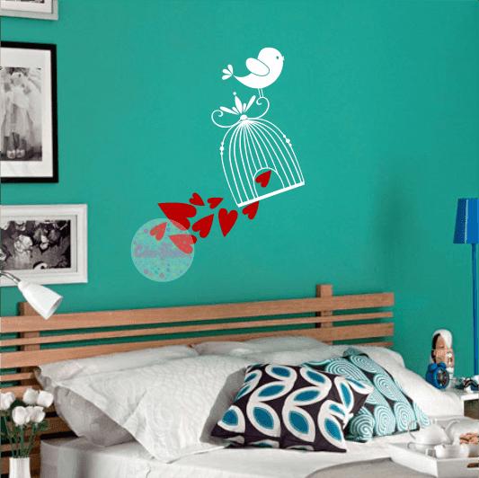 Vinilos decorativos para pared cdm vinilos decorativos - Vinilos de amor ...