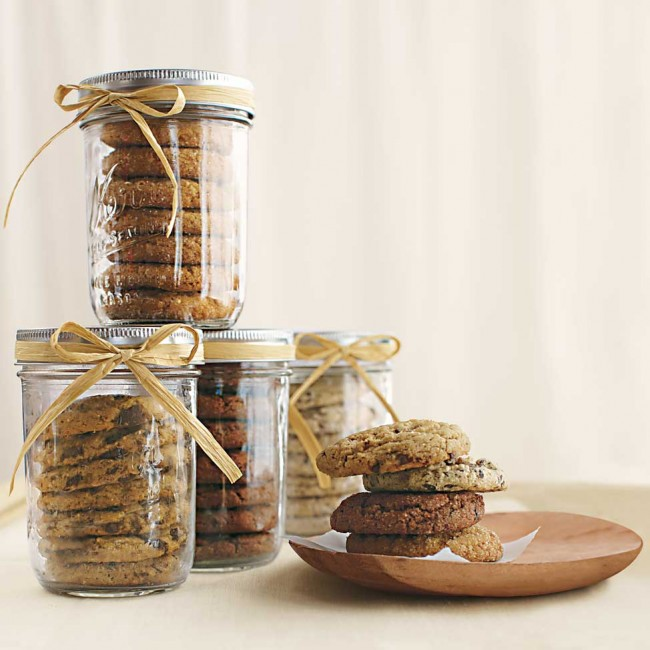 Homemade Gift Ideas Cookies In A Jar Treading Lightly