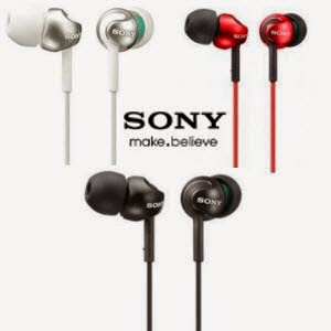 Amazon: Buy Sony MDR-EX110LP Monitor In-Ear-Headphone at Rs.752